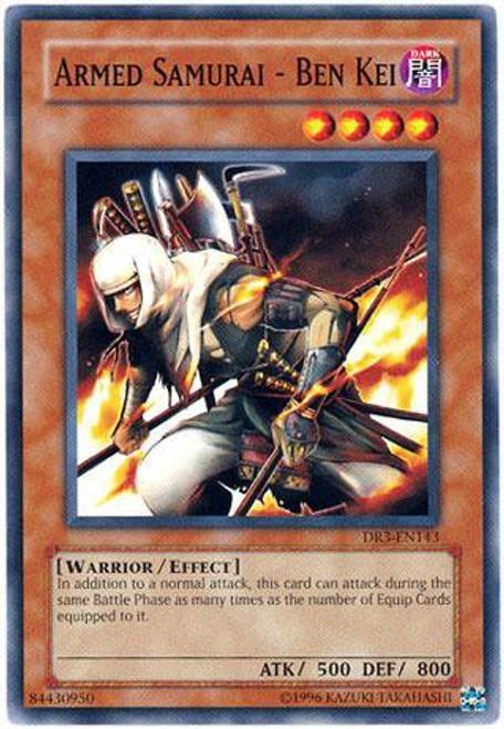 YuGiOh Dark Revelation 3 Common Armed Samurai - Ben Kei DR3-EN143