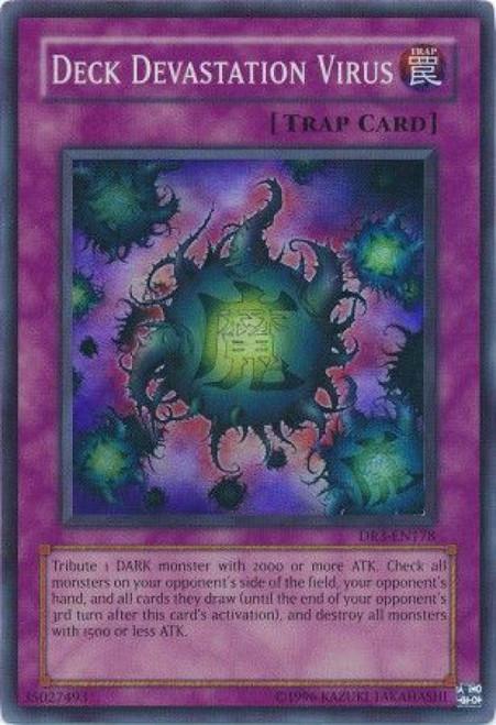 YuGiOh Dark Revelation 3 Super Rare Deck Devastation Virus DR3-EN178