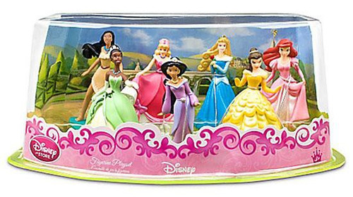 Disney Princess Exclusive 7-Piece PVC Figure Playset #2 [Set #2]
