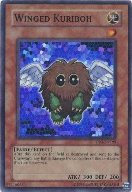 YuGiOh Dark Revelation 3 Super Rare Winged Kuriboh DR3-EN185
