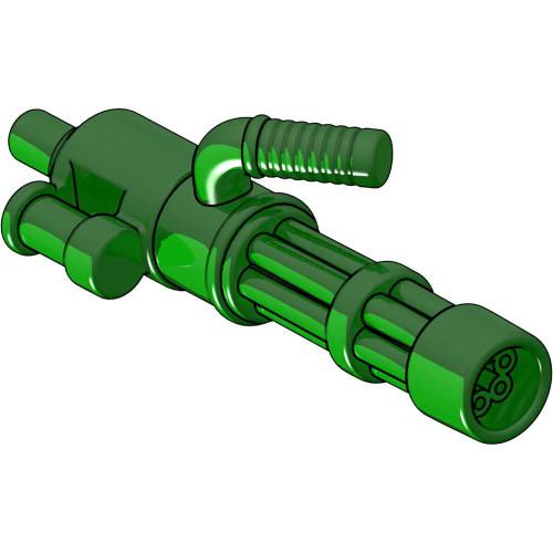 BrickArms Minigun 2.5-Inch [Trans Green with No Ammo]