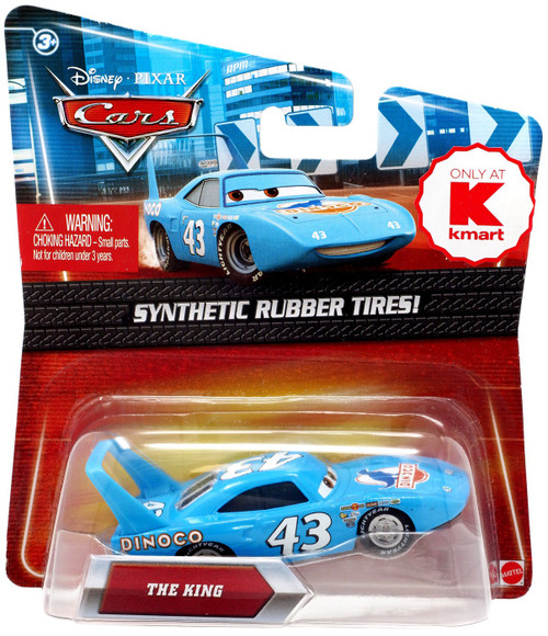 Disney / Pixar Cars Synthetic Rubber Tires The King Exclusive Diecast Car