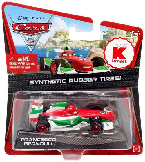 Disney / Pixar Cars Cars 2 Synthetic Rubber Tires Francesco Bernoulli Exclusive Diecast Car