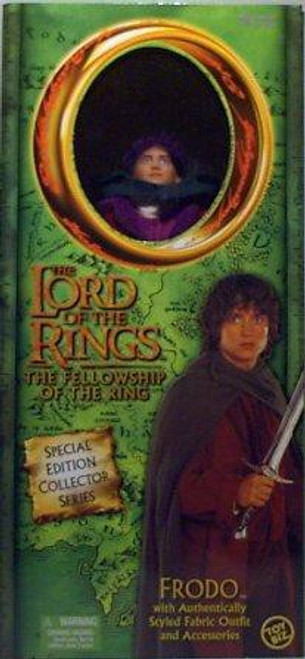 The Lord of the Rings The Fellowship of the Ring Frodo Baggins Deluxe Action Figure