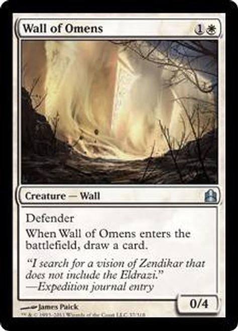 MtG Commander Uncommon Wall of Omens #37