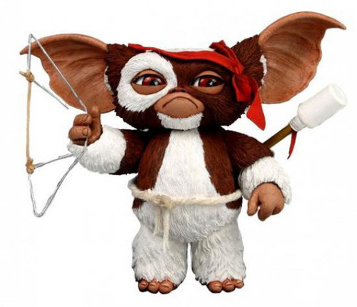 NECA Gremlins Mogwais Series 2 Combat Gizmo Action Figure [Rambo Version]