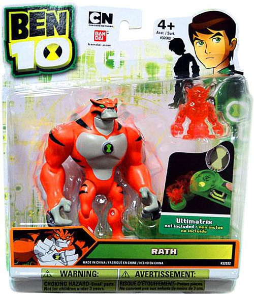 Ben 10 Rath Action Figure