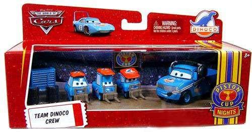 Disney / Pixar Cars The World of Cars Multi-Packs Team Dinoco Crew Exclusive Diecast Car Set