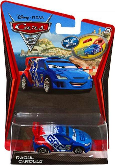 Disney / Pixar Cars Cars 2 Pull Back Racers Raoul Caroule Diecast Car [Pull Back]