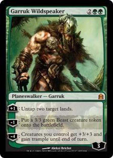 MtG Commander Mythic Rare Garruk Wildspeaker #157