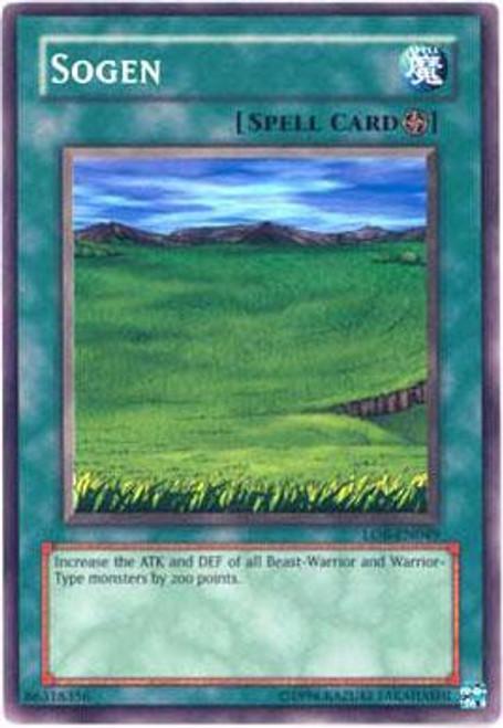 YuGiOh Legend of Blue Eyes White Dragon Common Sogen LOB-049