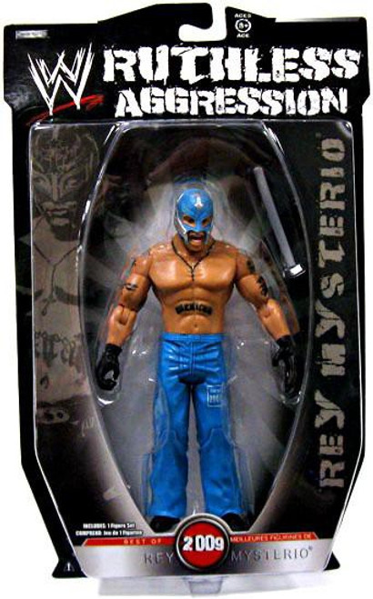 WWE Wrestling Ruthless Aggression Best of 2009 Series 1 Rey Mysterio Action Figure