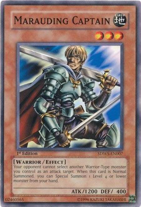 YuGiOh YuGiOh 5D's Structure Deck: Warriors' Strike Common Marauding Captain SDWS-EN007