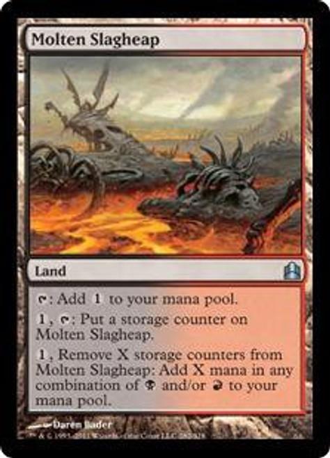 MtG Commander Uncommon Molten Slagheap #282