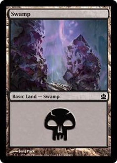 MtG Commander Land Swamp #307