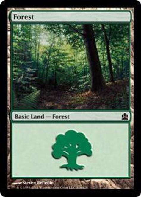 MtG Commander Land Forest #315