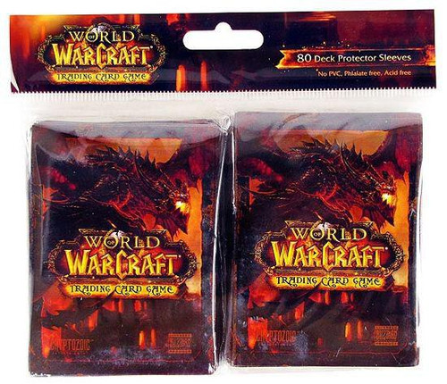 World of Warcraft Cataclysm Card Supplies Deathwing Card Sleeves [80 Count]