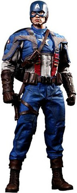 The First Avenger Movie Masterpiece Captain America Collectible Figure [The First Avenger]