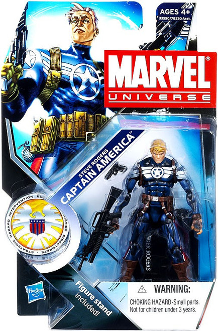 Marvel Universe Series 15 Steve Rogers Captain America Action Figure #21
