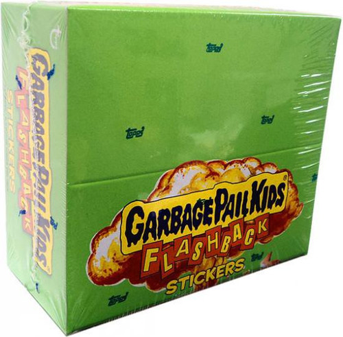 Garbage Pail Kids Topps Flashback Series 3 Trading Card Sticker Box [24 Packs]