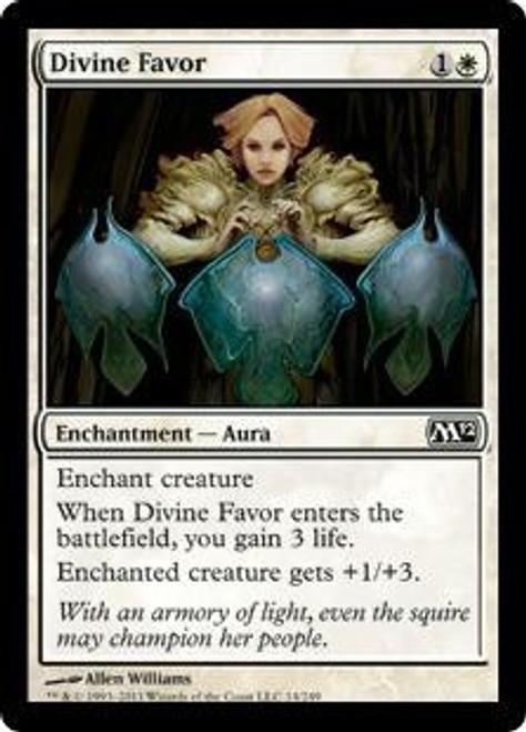 MtG 2012 Core Set Common Divine Favor #14
