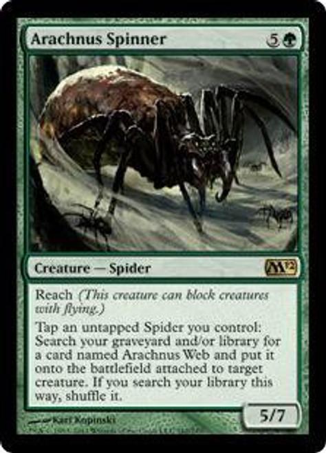 MtG 2012 Core Set Rare Arachnus Spinner #162