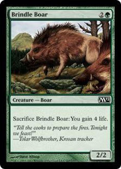 MtG 2012 Core Set Common Brindle Boar #167