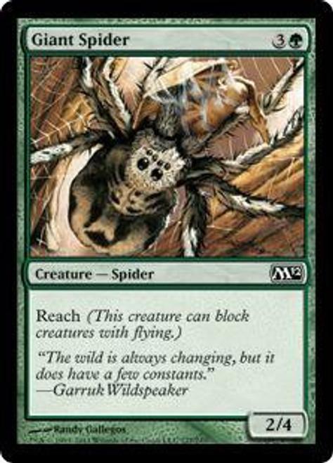 MtG 2012 Core Set Common Giant Spider #177