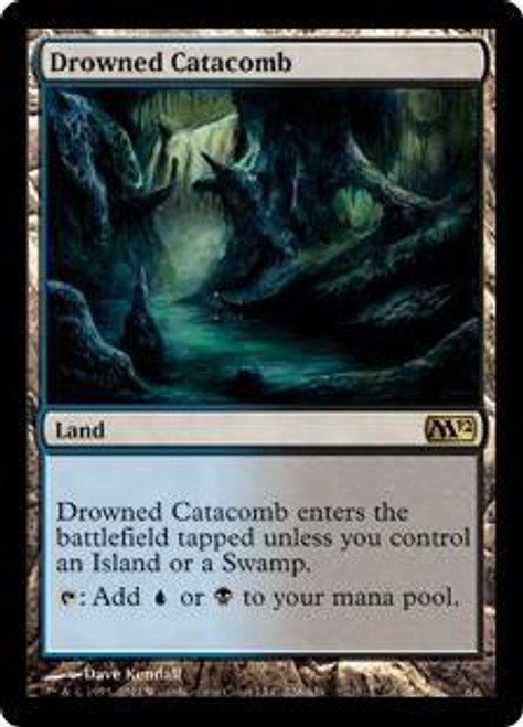 MtG 2012 Core Set Rare Drowned Catacomb #226