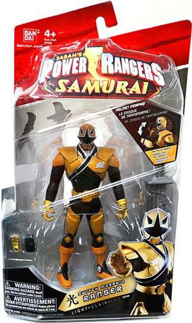 Power Rangers Samurai Switch Morphin Ranger Light Action Figure