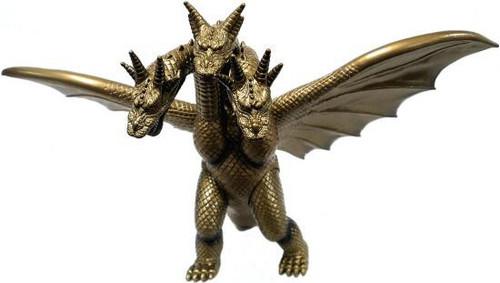 Godzilla 1992 50th Anniversary Memorialbox King Ghidorah Vinyl Figure