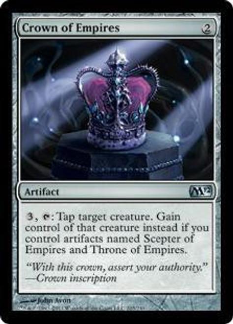 MtG 2012 Core Set Uncommon Crown of Empires #203