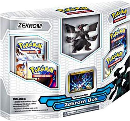 Pokemon Trading Card Game Black & White Emerging Powers Zekrom Box [4 Booster Packs, Figure & Promo Card]