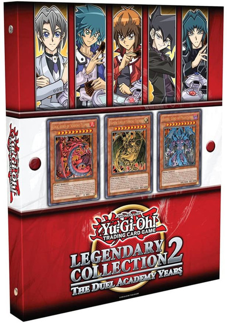 YuGiOh Trading Card Game Legendary Collection 2 The Duel Academy Years Binder