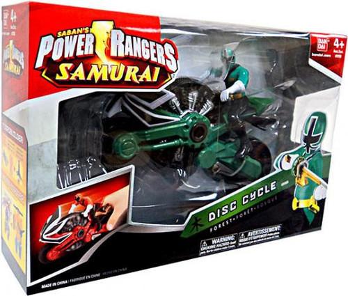 Power Rangers Samurai Disc Cycle Action Figure [Forest]