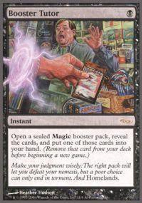 MtG Trading Card Game Arena Promo Booster Tutor [Arena Unhinged]