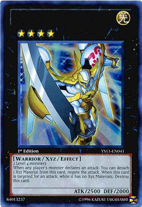 YuGiOh Trading Card Game Dawn of the Xyz Ultra Rare Number 39: Utopia YS11-EN041