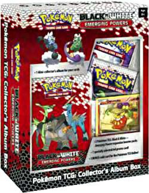 Pokemon Trading Card Game Black & White Emerging Powers Collector's Album Box [2 Booster Packs & Promo Card]