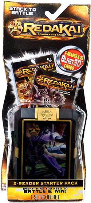 Redakai Conquer the Kairu X-Reader Starter Pack