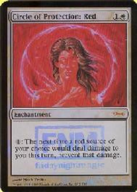 MtG Friday Night Magic Promo Circle of Protection: Red [FNM 2005]