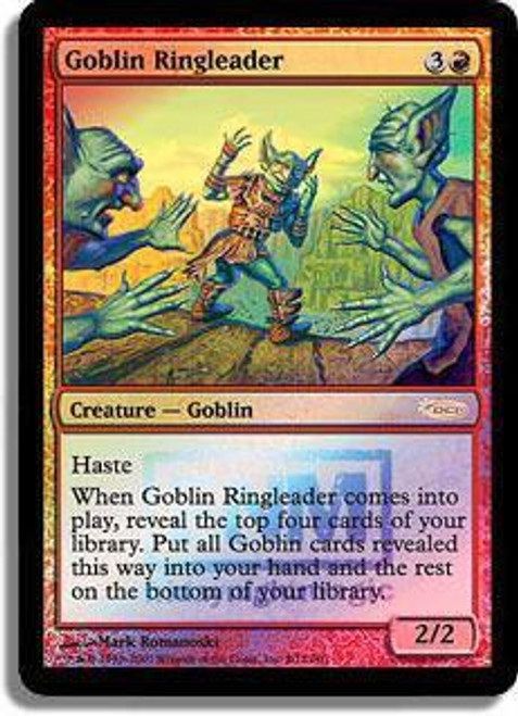 MtG Friday Night Magic Promo Goblin Ringleader [FNM 2007]