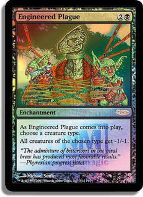 MtG Friday Night Magic Promo Engineered Plague [FNM 2007]