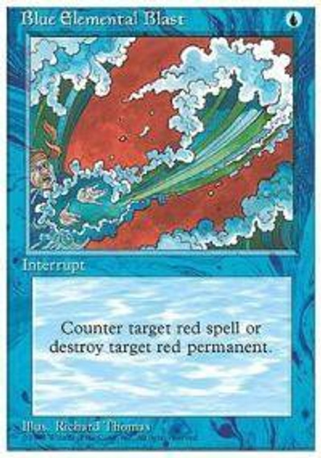 MtG Assorted Promo Cards Promo Blue Elemental Blast [Book Promo]