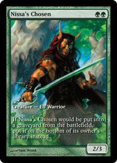 MtG Assorted Promo Cards Promo Nissa's Chosen [Zendikar Game Day]