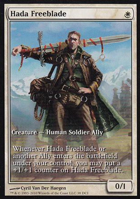 MtG Assorted Promo Cards Promo Hada Freeblade [Worldwake Game Day]