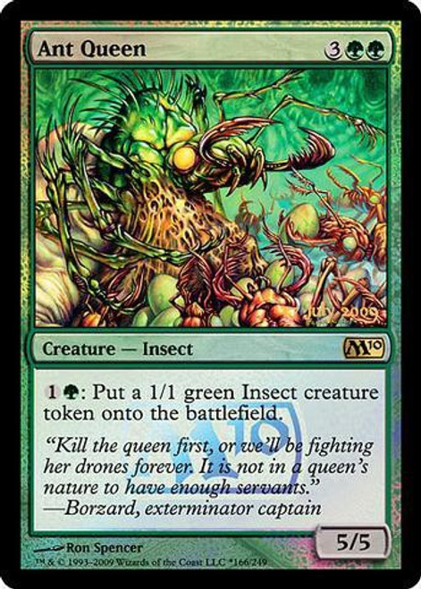 MtG Prerelease & Release Promo Ant Queen [Magic 2010 Release]