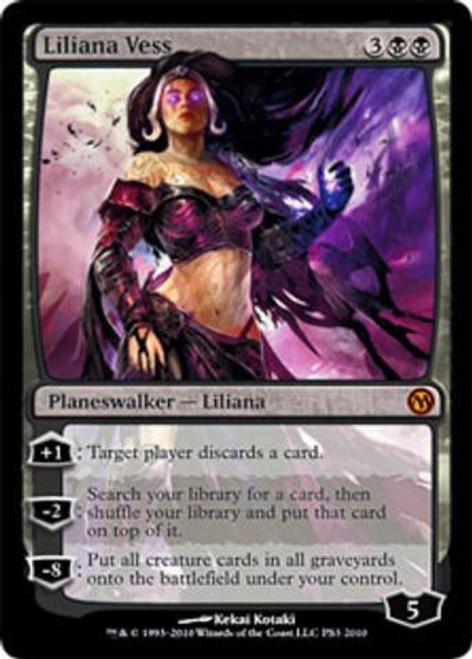 MtG Assorted Promo Cards Promo Liliana Vess [Duels of the Planeswalkers [PS3]