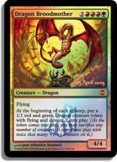 MtG Prerelease & Release Promo Dragon Broodmother [Alara Reborn Release]