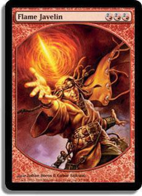 MtG Textless Player Rewards Promo Flame Javelin [Textless Player Rewards]
