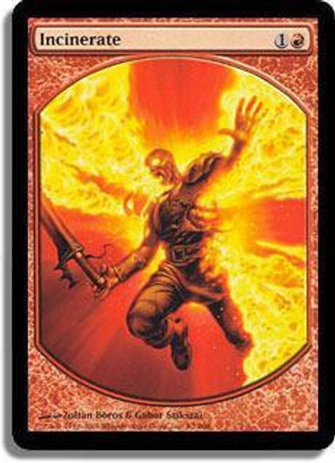 MtG Textless Player Rewards Promo Incinerate [Textless Player Rewards]